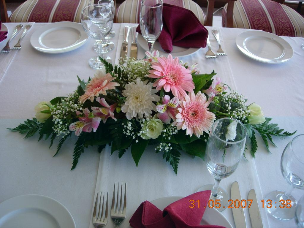 Композиции для свадебного стола своими руками