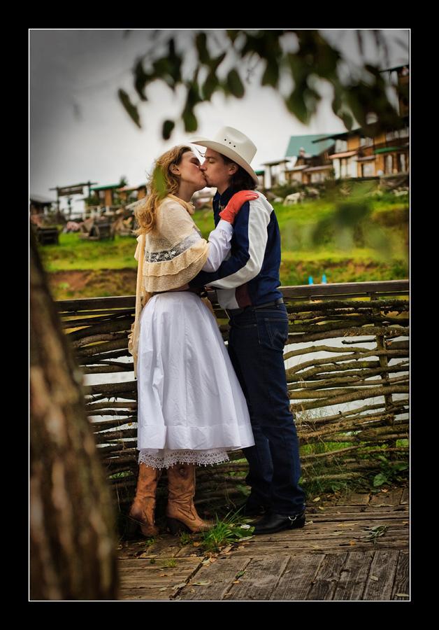 Блог.ру - vilenaekon - Свадебная фотосессия в стиле кантри.