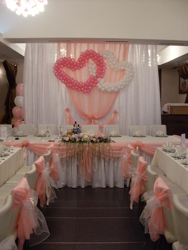 Декорирование свадебного зала своими руками 67