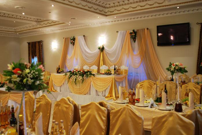 Дизайн свадебного зала