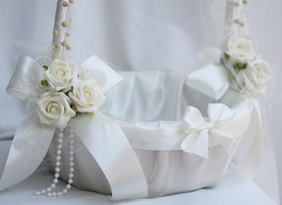 Корзина своими руками на свадьбу