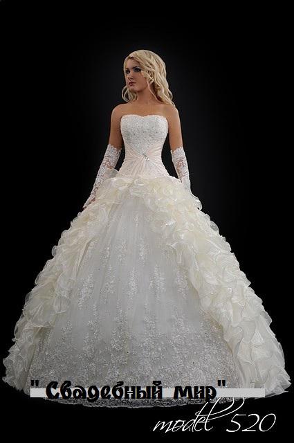 Самые красивые пышные платья 4