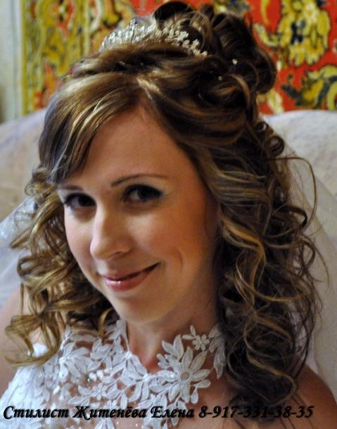 свадебные прически и макияж калуга