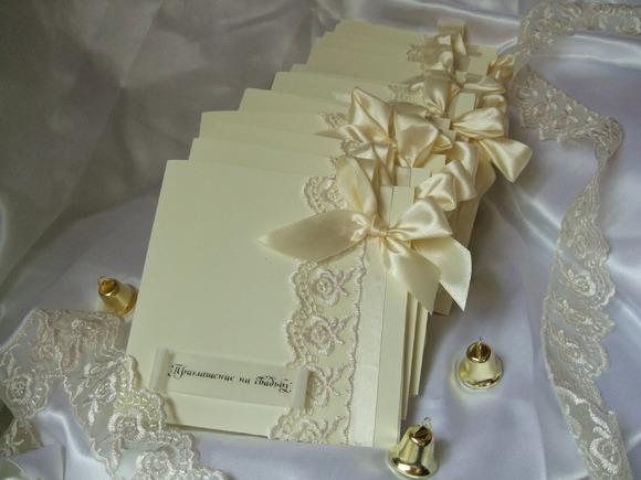 Свадебные приглашения своими руками шаблон