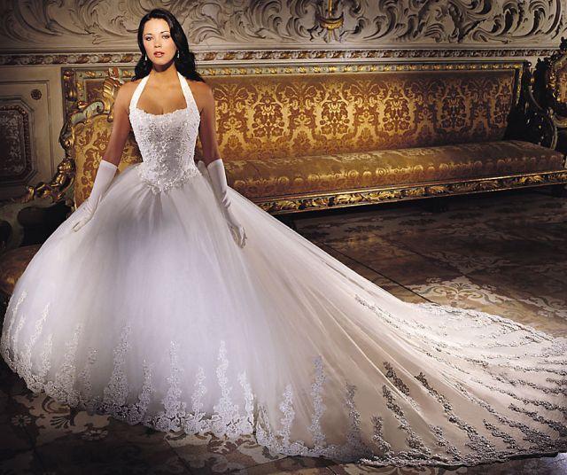 Самое пышное свадебное платье мире