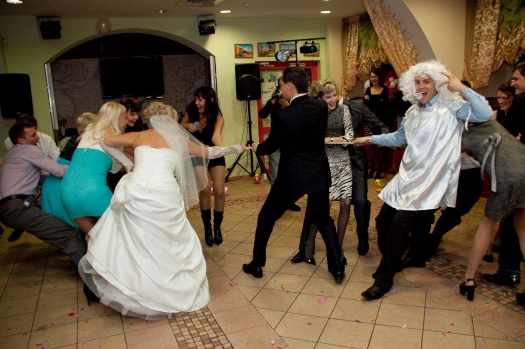 Денежные конкурсы на свадьбу на второй день