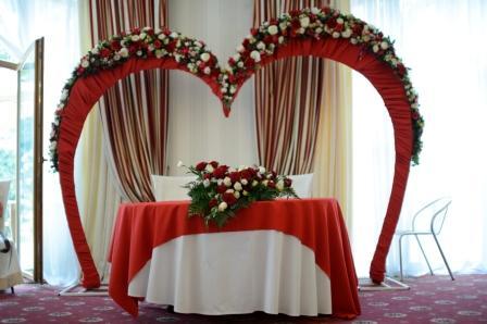 Как сделать свадебную арку своими руками из ткани