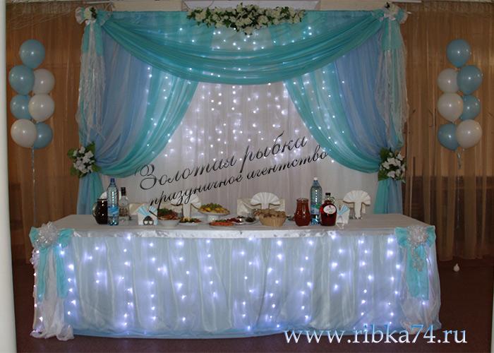 Как украсить банкетный зал на свадьбу своими руками фото