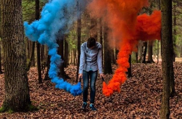 Цветной Дым в Оренбурге