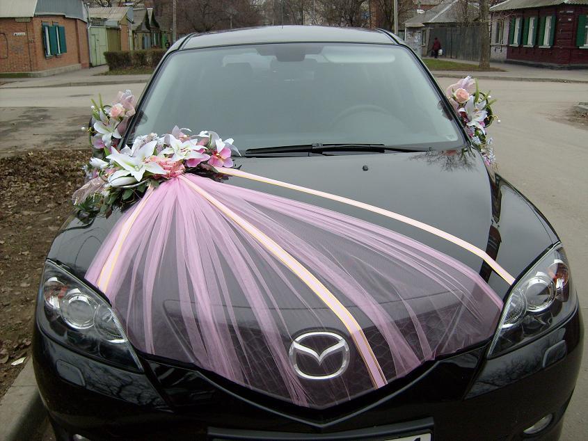 Машина на свадьбу украшение своими руками