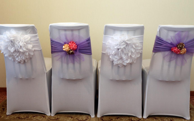Универсальные чехлы на стулья свадьба своими руками